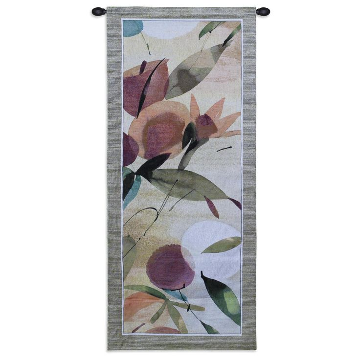 Tapestry, Fiesta Primavera I. Modern and Contemporary Tapestries. This tapestry Fiesta Primavera I is a fresh new look in modern wall hangings for beautiful wall decor. It is one of a matching pair w...
