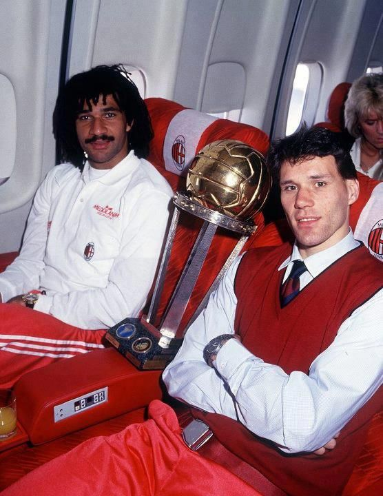 Ruud Gullit e Marco Van Basten too much legend in this pic