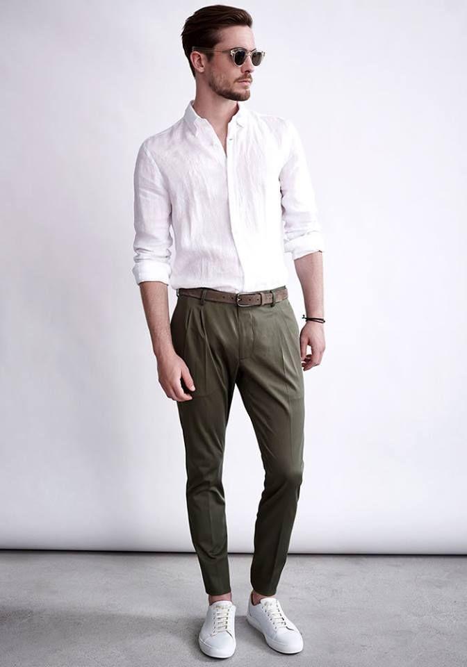 Today's Look: Linen shirt Photo: Windsor. #ootd #menswear #mensfashion #mensstyle #instafashion #linenshirt