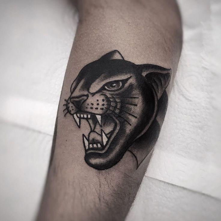 Tattoo Old School, Cheetah Tattoo, Traditional Panther Tattoo, Ghost Tattoo, Tatuagem Old School, City Photography, Tatoos, Tatting, Body Tattoos