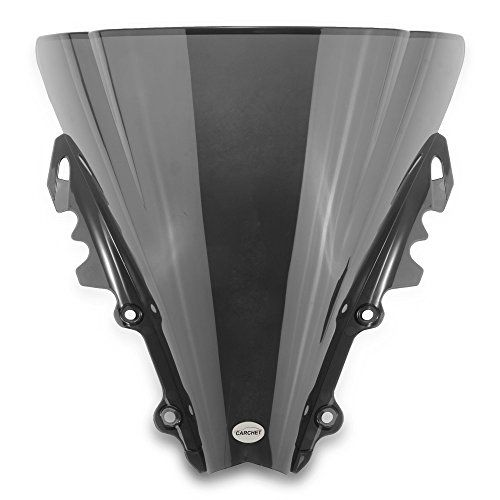 Best price on Zimo Motorcycle Windshield Wind Shield Screen Black for Yamaha R6 2006-2007 //   See details here: http://vehicleidea.com/product/zimo-motorcycle-windshield-wind-shield-screen-black-for-yamaha-r6-2006-2007/ //  Truly a bargain for the inexpensive Zimo Motorcycle Windshield Wind Shield Screen Black for Yamaha R6 2006-2007 //  Check out at this low cost item, read buyers' comments on Zimo Motorcycle Windshield Wind Shield Screen Black for Yamaha R6 2006-2007, and buy it online…