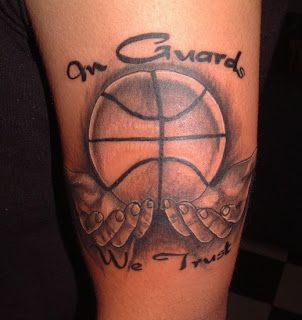 Crazy Tattoo Trend: Delightful Collection of Basketball Tattoos