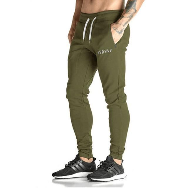 Golds Pants Mens Tracksuit Bottoms Cotton Fitness Skinny Joggers Sweat Pants Pantalones Chandal Hombre Casual Pants
