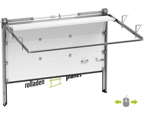 Sektionaltor Modern 40mm | Sektionaltor | Rolladenplanet