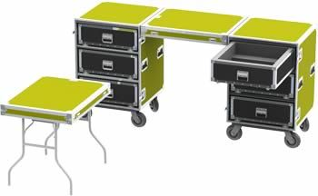 Workcases for Event Production - Wilson Case Flight Cases
