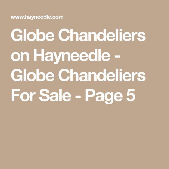 Globe Chandeliers on Hayneedle - Globe Chandeliers For Sale - Page 5