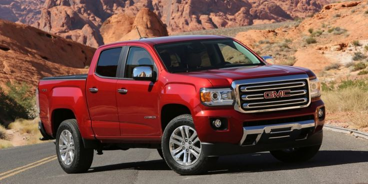 The 2017 GMC Canyon is looking PERFECT!