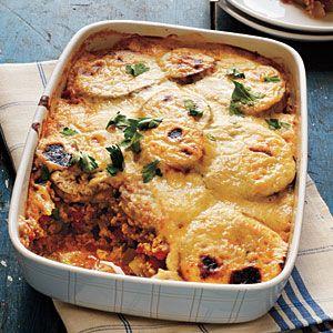Vegetarian Moussaka | MyRecipes.com