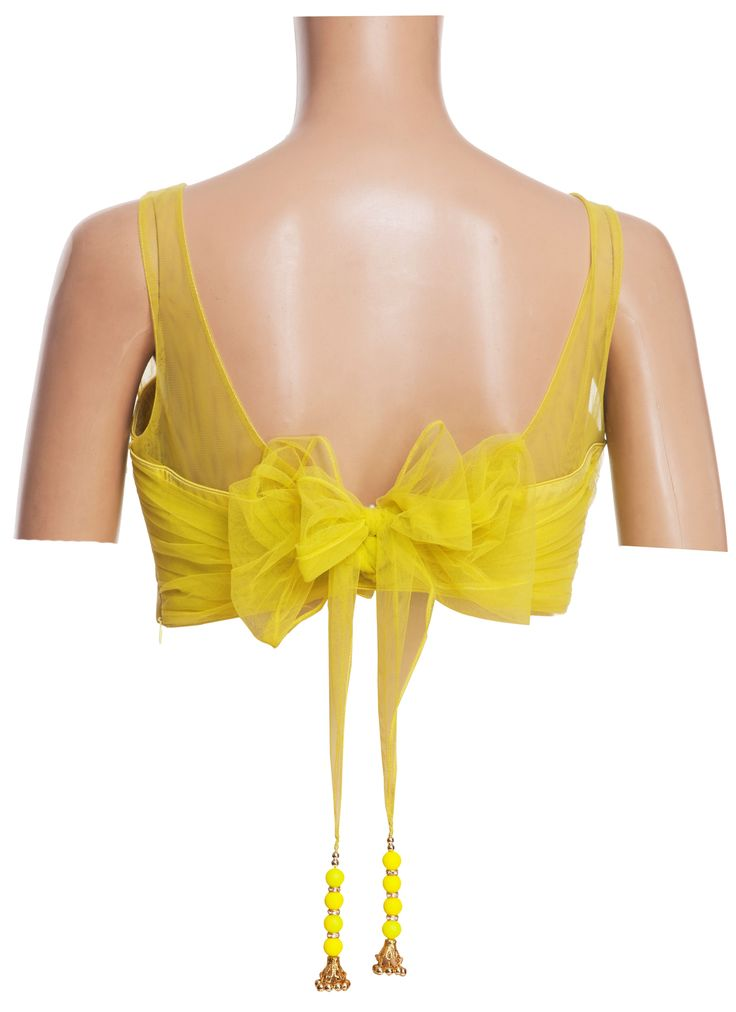 Back With bow.. Get it at http://mytailor.in/