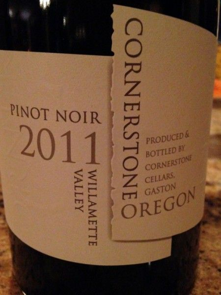 Comfort Food and Wine: Mushroom Risotto and 2011 Cornerstone Oregon Willamette Valley Pinot Noir, White Label ~ http://www.grape-experiences.com/2014/12/mushroom-risotto-2011-cornerstone-oregon-pinot-noir/