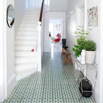 encaustic tile floor
