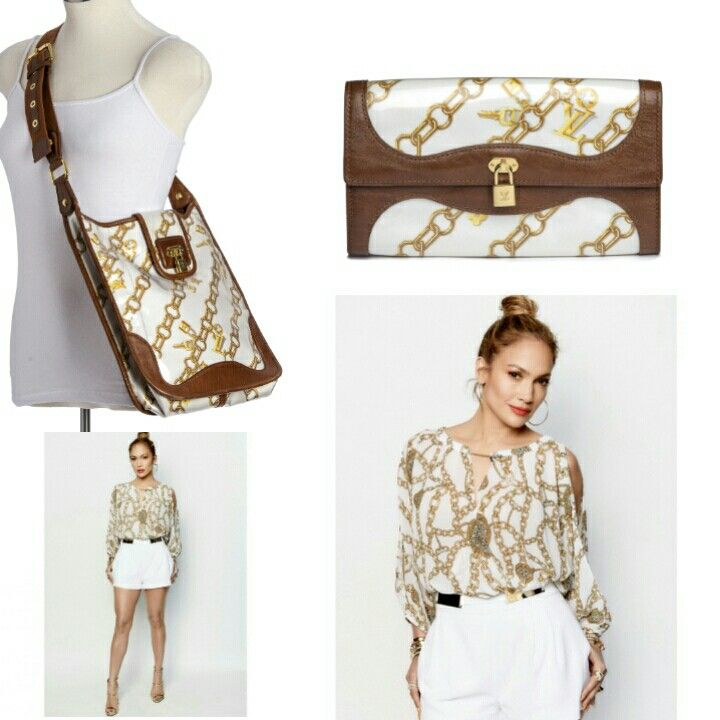Look like JLo for less with the Louis Vuitton Monogram Charms Musette Bag and Wallet. closetcollabo.ca