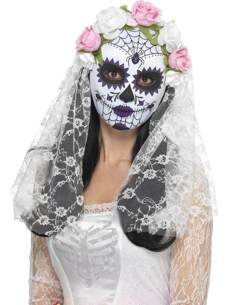 Day of the Dead -morsiamen maski
