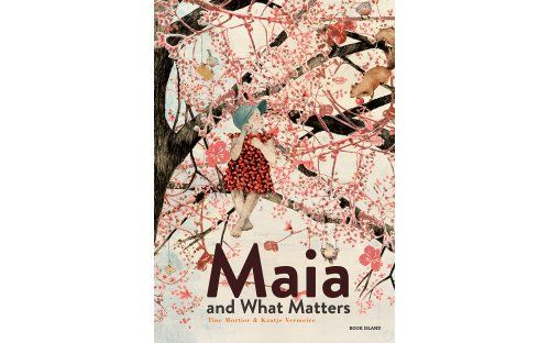 'Maia and What Matters' by Tine Mortier and Kaatje Vermeire | Published by Book Island -   'A beautiful and accessible book about the enduring relationship between a grandmother and her granddaughter in the face of illness and ageing.'