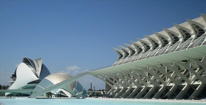 Valencia, Spanje  (Ciudad de las Artes y Ciencias)  #Valencia, #Spanje