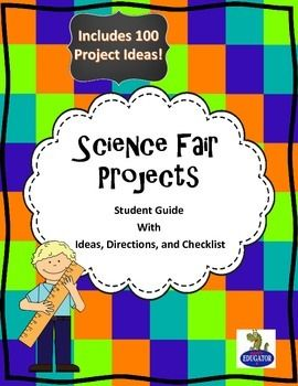 science fair cover page