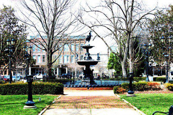 The Fountain in Downtown Bowling Green, Kentucky, exploring #downtown. #InspireMe