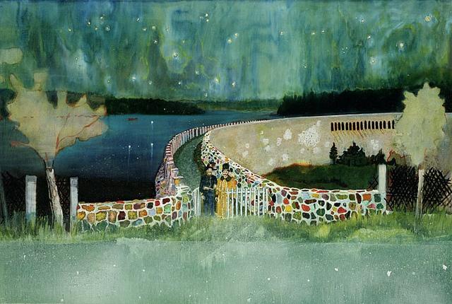Peter Doig. #Art #Painting #PeterDoig