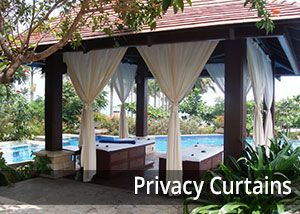 PatioLane love the flow custom Sunbrella curtains