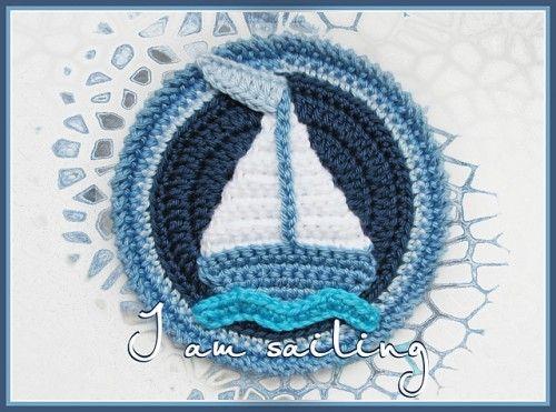 Planes, Trains, and Boats! Free crochet pattern collection on Moogly! ♥ ✿⊱╮Teresa Restegui http://www.pinterest.com/teretegui/✿⊱╮