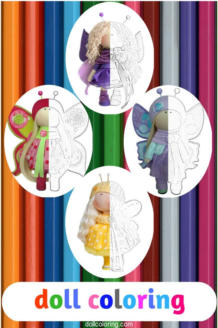 Childrens coloring sheet of a rag doll - Child Coloring Doll Coloring Fabric Doll Tilda Doll Baby Coloring Adult Coloring Printable Coloring Coloring Pages Rag Doll Kids Coloring