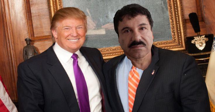 'El Chapo' To Be Named As Trump VP Choice:-)