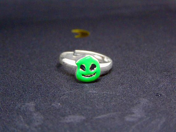 Small Nightmare Before Christmas Oogie Boogie Man Ring