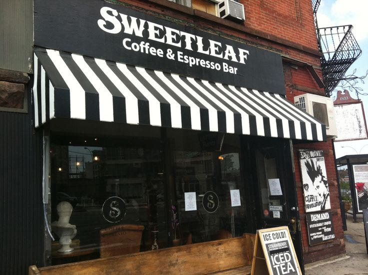 Kanopi kain unik untuk teras toko dan café