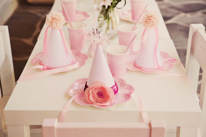 tableParties Hats, Ballet Parties, Birthday Parties, Theme Parties, Ballerinas Birthday, 5Th Birthday, Parties Ideas, Girls Parties, Ballerinas Parties