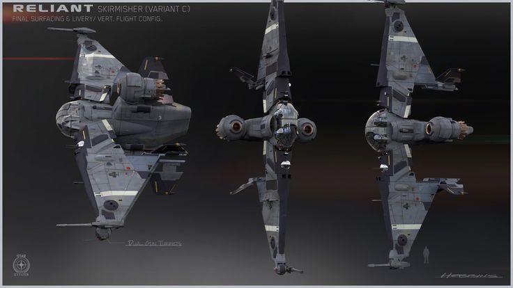 The Reliant Tana - Skirmisher - fighter version