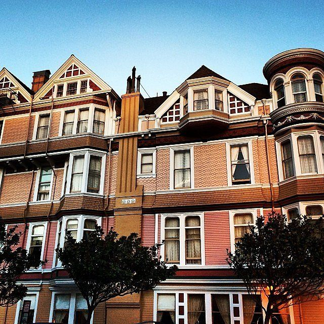 America's Most Haunted Houses | POPSUGAR Home Queene Ann hotel San Francisco