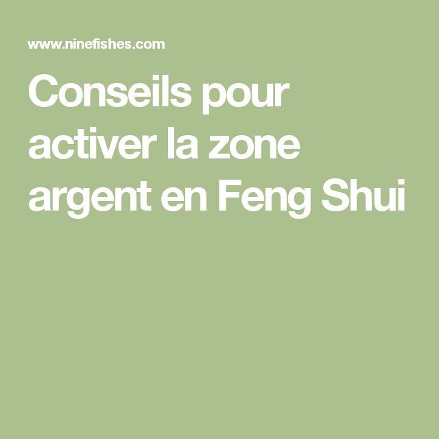 Conseils pour activer la zone argent en Feng Shui