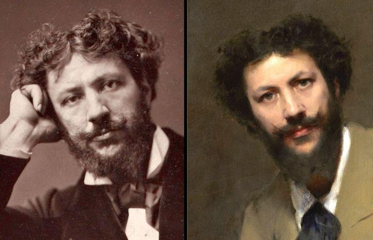 John Singer Sargent   Portrait of Carolus-Duran, 1879   Tutt'Art@   Pittura * Scultura * Poesia * Musica  