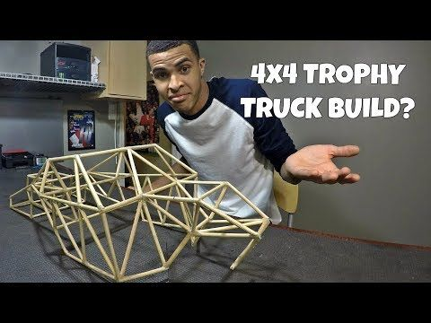 Custom 4x4 RC Trophy Truck Build - Part 1: Intro, TIG Welding an RC Chassis - YouTube