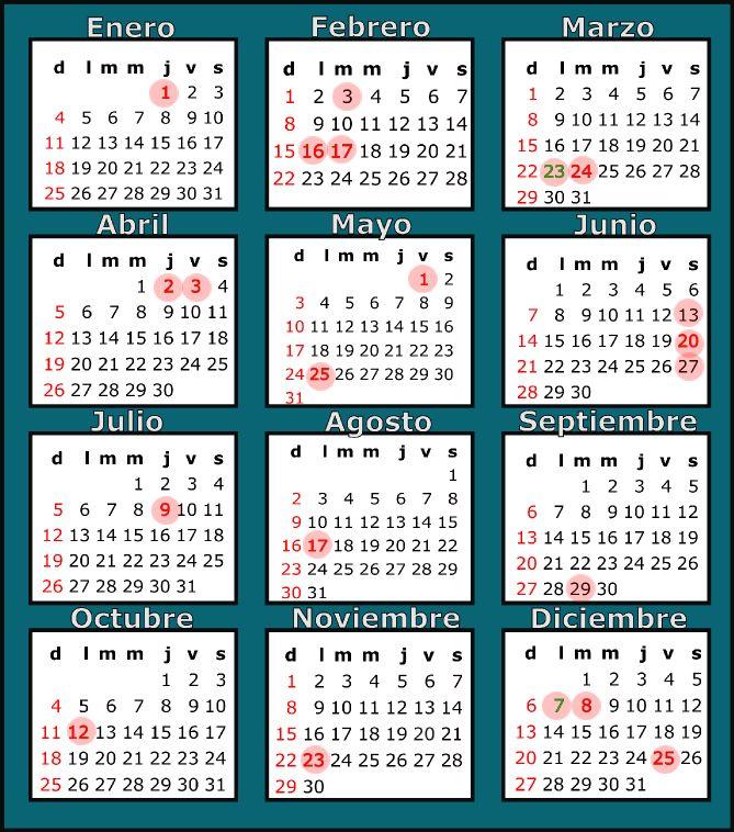 Calendario Lunar Julio 2016 Argentina