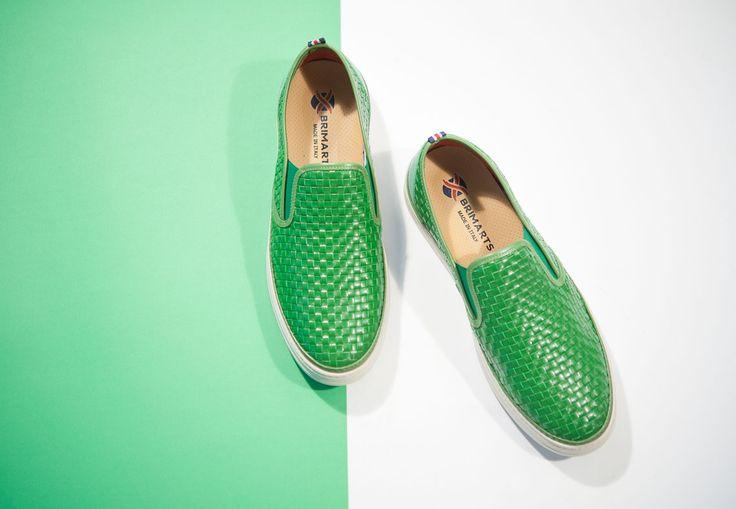 Slipon for man Brimarts.Shoes for summer.