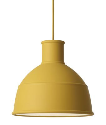 Unfold Pendant Mustard yellow by Muuto - Design furniture and decoration with Made in Design
