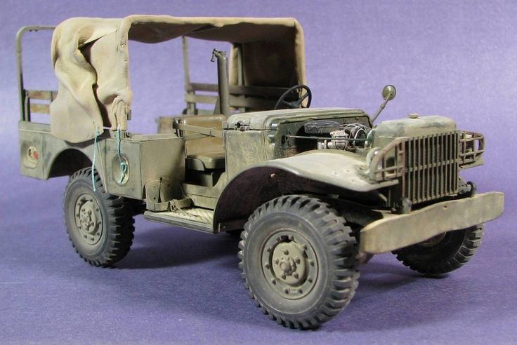 #WC51 Building the AFV Club IDF Dodge Beep WC51 - 1/35 scale