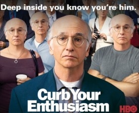 Larry David..: Favorite Tv, Favorite Things, Scrambled Eggs, Funny Stuff, Larry David, Hilarious, Movie Tv, So Funny, Favorite Comedy