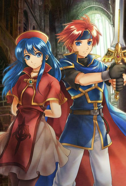 Fire Emblem 6 - Lilina and Roy