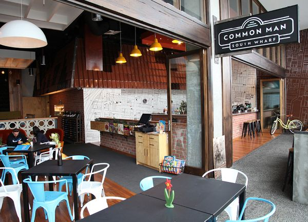 Common man is a tribute to the working men and women of melbourne town a restaurant brandingrestaurant interiorsrestaurant designdonut