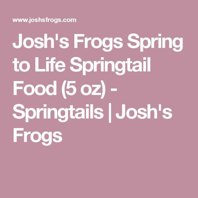 Josh's Frogs Spring to Life Springtail Food (5 oz) - Springtails | Josh's Frogs