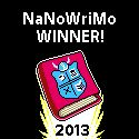 Sisu Diaries: Winner Winner Chicken Dinner!  A brief comment on winning NaNoWriMo...If you haven't tried it, you really should. :) See you next November!