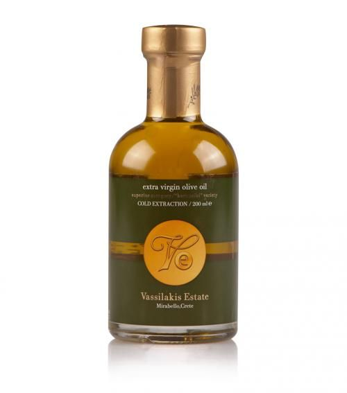 """""""Vasilakis Estate"""" extra virgin olive oil 200ml available at just 6.50€"""