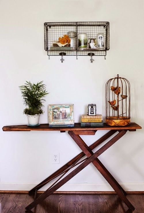 7 new uses for an old ironing board                                                                                                                                                                                 More