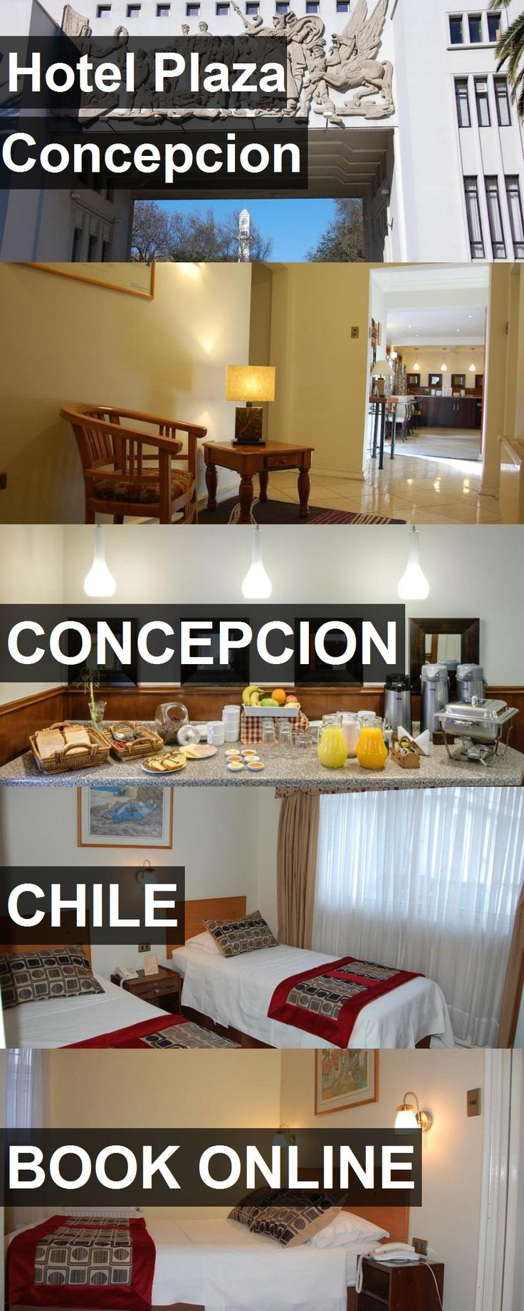 Hotel Plaza Concepcion in Concepcion, Chile. For more information, photos, reviews and best prices please follow the link. #Chile #Concepcion #travel #vacation #hotel