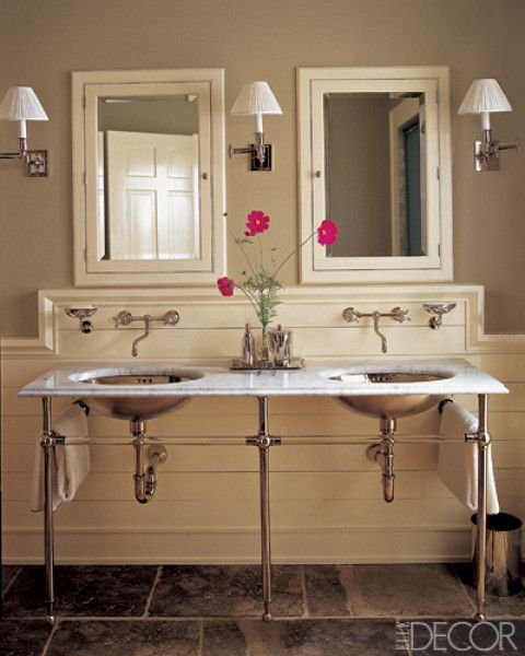 Bathroom Ideas Elle Decor 583 best bathrooms & powder rooms images on pinterest | bathroom
