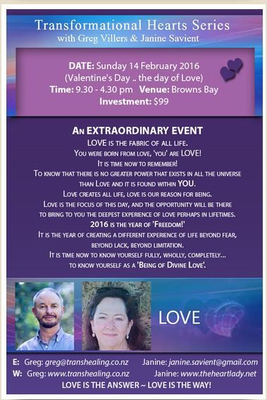 Join Greg and Janine on Valentines Day for a day of LOVE.  #Greg #Janine #Love