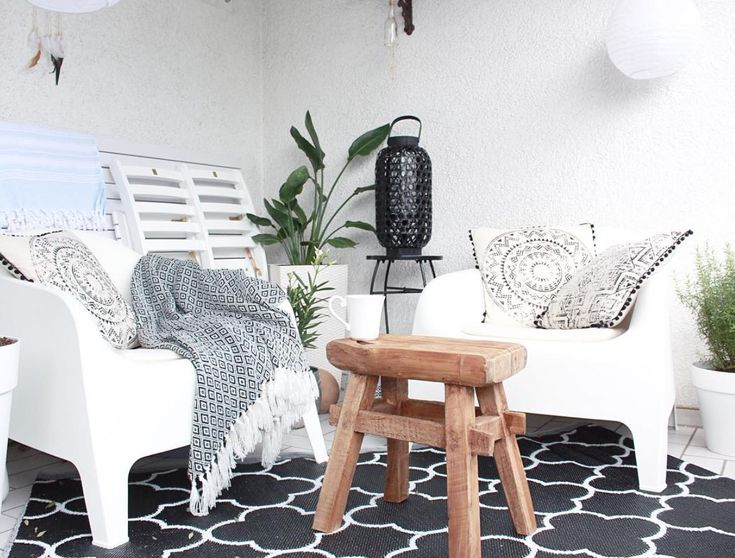 17 Best Ideas About Sitzecke Balkon On Pinterest | Terrassenbank ... 25 Balkongestaltung Ideen Gemutliche Sitzecke Arrangieren