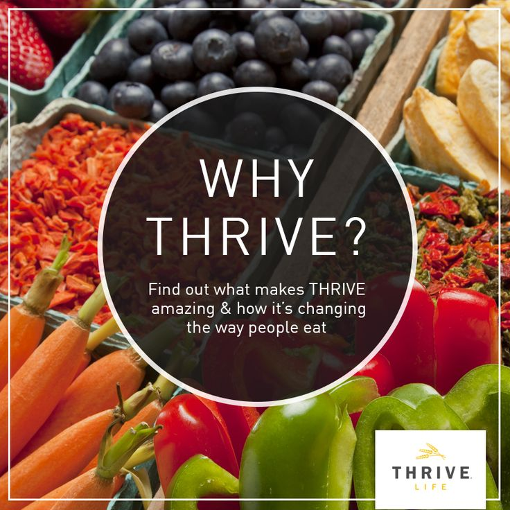 Thrive Life A more convenient way to prepare your meals. THRIVE a premier line of delicious freeze dried and dehydrated foods is simply put ... & 57 best Thrive Life Consultant images on Pinterest | Freeze drying ...